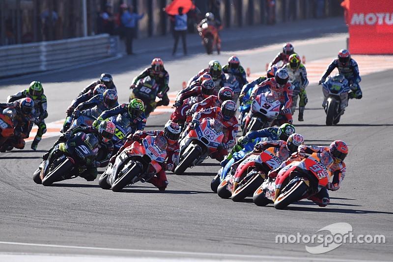 MotoGP-Finale 2017 in Valencia: Das Rennergebnis in Bildern