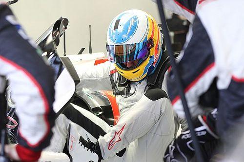 Per Fernando Alonso primi 37 giri con la Toyota