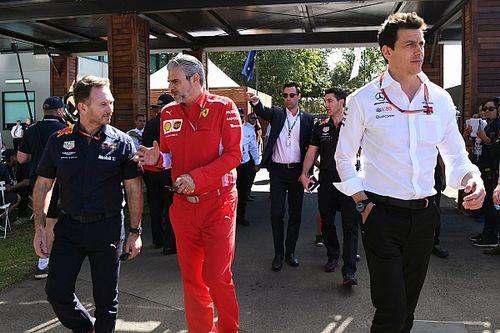 Хорнер поставил двигатели Ferrari выше Mercedes