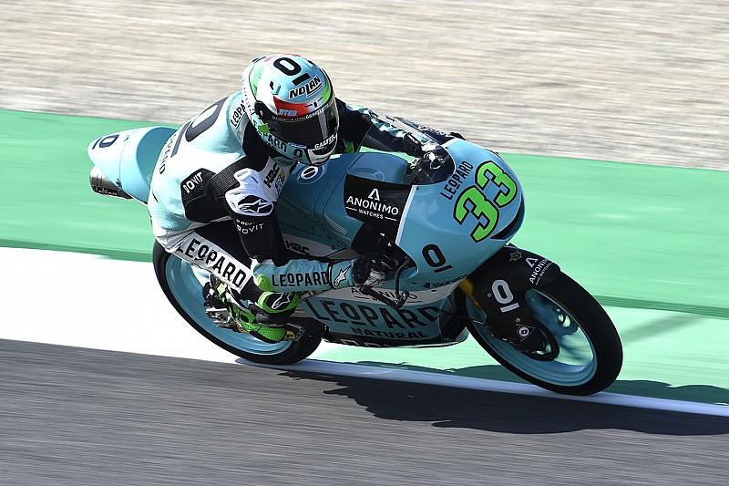 Bastianini se lleva una carrera con múltiples caídas