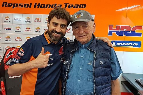 MotoGPコラム:イタリアGPを訪れた、ホンダ苦闘の歴史知る生き証人