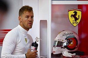 """Vettelpointe une erreur """"pas énorme"""" et s'excuse auprès de Ferrari"""
