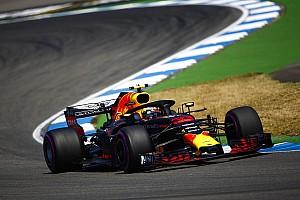 German GP: Verstappen leads FP2 despite hitting trouble