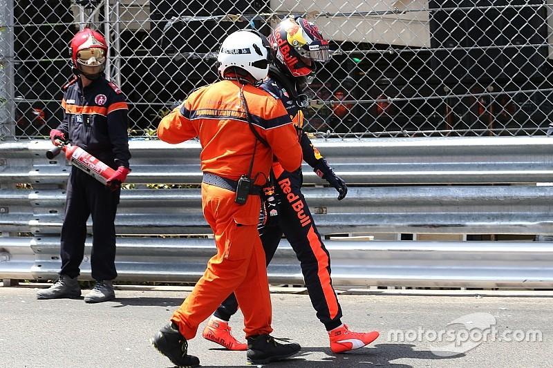 """El error de Verstappen en Mónaco, """"más doloroso de lo normal"""""""