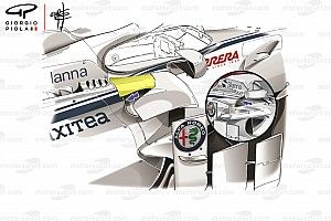 Sauber introduces its biggest update yet