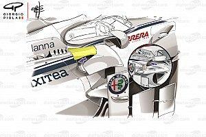 İşte Sauber F1'in orta bölümde sürpriz yapmasını sağlayan değişiklikler