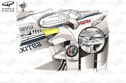 Formel-1-Technik Monaco: Sauber zündet sein größtes Update