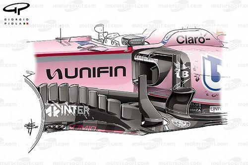 Tech analyse: Waarom Force India in Mexico voor het podium kon gaan
