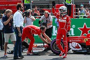 """Vettel: """"Ez most nagyon jó volt, megvan a pole"""""""