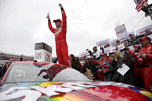 NASCAR Cup Отчет о гонке Буш выиграл вторую гонку NASCAR подряд