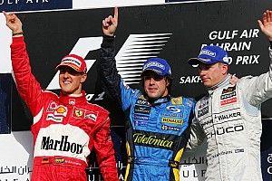 F1: Alonso, Raikkonen e a mudança de geração que eles representam
