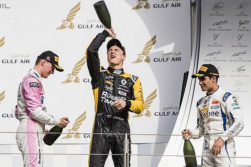 【動画】F2第1戦バーレーン決勝レース2ハイライト
