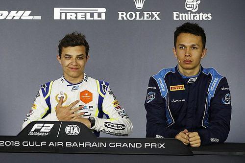 Норрис поверил в шансы Элбона вернуться в Формулу 1