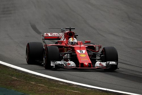 """Vettel says he """"chickened out"""" in Brazilian GP pole fight"""