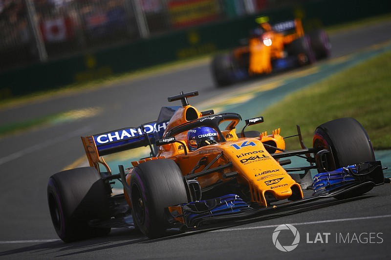 "McLaren's Melbourne performance ""a big contrast"" to 2017"