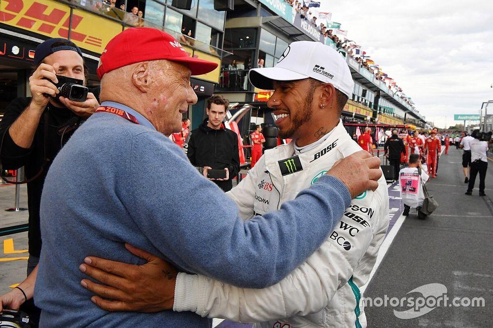 """Hamilton: """"Sin Lauda, solo tendría un mundial"""""""