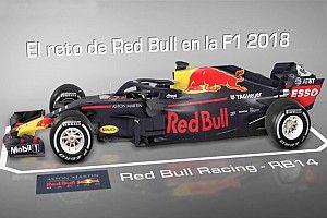 VIDEO: Los cambios agresivos que Red Bull ha realizado en 2018
