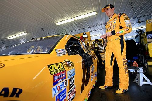 "Kyle Busch: ""I'm really tired of losing races here with parts falling apart"""