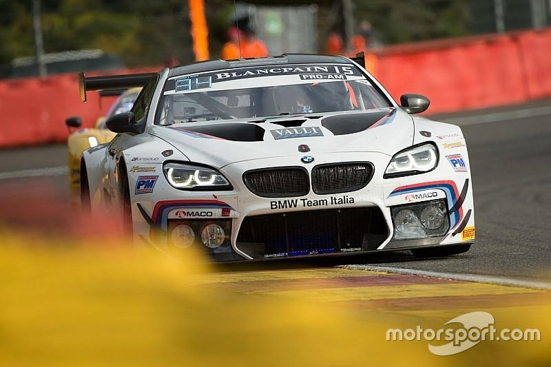 L'olandese Max Koebolt sale sulla BMW M6 GT3 di BMW Team Italia nel Tricolore GT