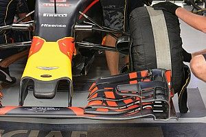 Bite-size tech: Red Bull RB12 serrated front wing flaps
