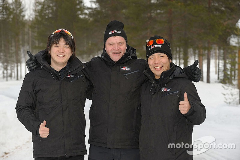Toyota fa esordire Katsuta nel WRC al volante di una Yaris Plus ufficiale!