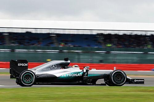British GP: Hamilton quickest as Mercedes dominates FP1