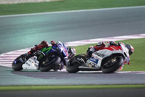 Ducati's Dovizioso puts in a great race to take the runner-up slot in GP of Qatar