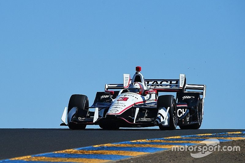 Castroneves leads Penske domination at Sonoma