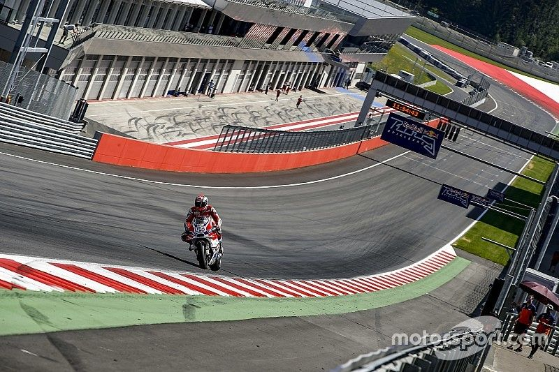 MotoGP to use modified last corner at Red Bull Ring