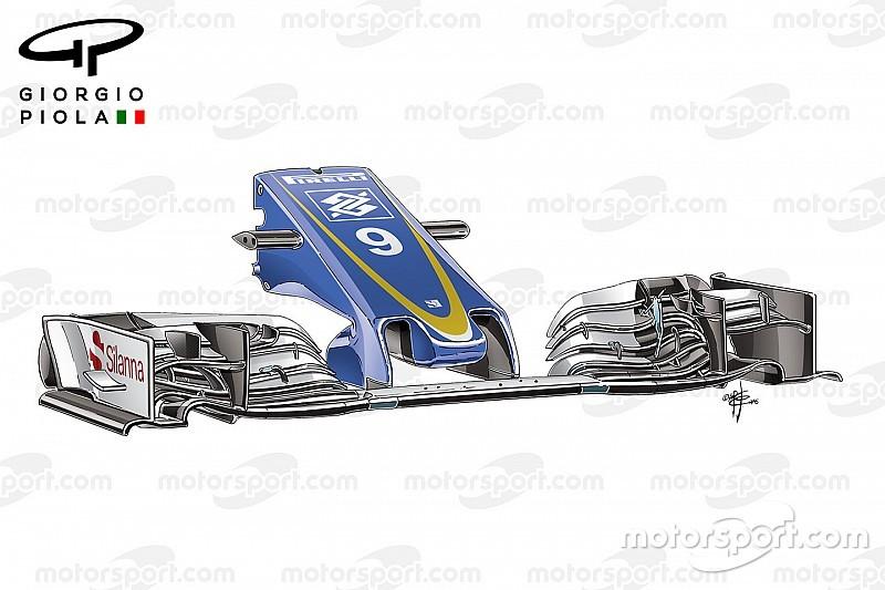 Tech analysis: Sauber brings first big upgrade of season
