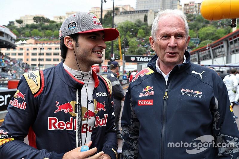 """Red Bull liet Sainz niet te makkelijk gaan: """"Hij is geen Verstappen"""""""