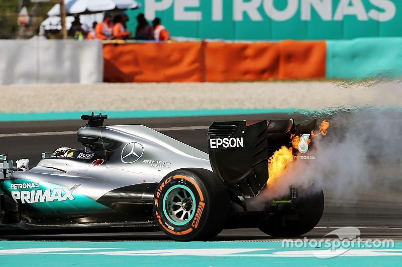 Mercedes assures Hamilton of engine parity