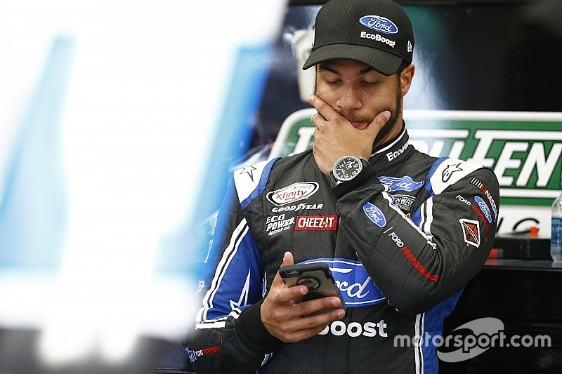 """Wallace Jr fined for NASCAR race control """"muppets"""" insult"""