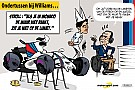 Cartoon van Cirebox - Straf voor Stroll...