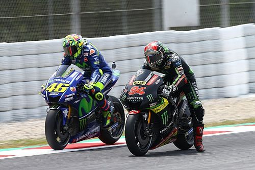 """Teleurstelling groot bij Rossi: """"Geen grip aan de achterkant"""""""