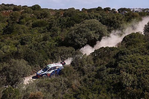 Italy WRC: Paddon leads close five-way fight