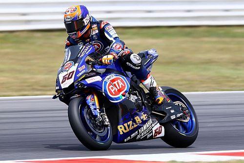 """Van der Mark baalt: """"Had mijn eerste Yamaha-winst moeten zijn"""""""