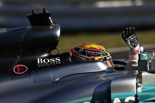 Hamilton solo veía en sueños una ventaja de 59 puntos sobre Vettel