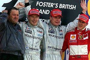 El día en que Coulthard ganó en Silverstone... merecidamente