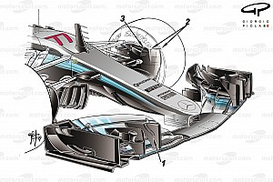 Fórmula 1 Análise Análise: As mudanças no carro da Mercedes para 2017