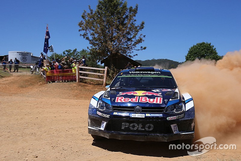 Australia WRC: Ogier closes in on lead as Mikkelsen hits trouble