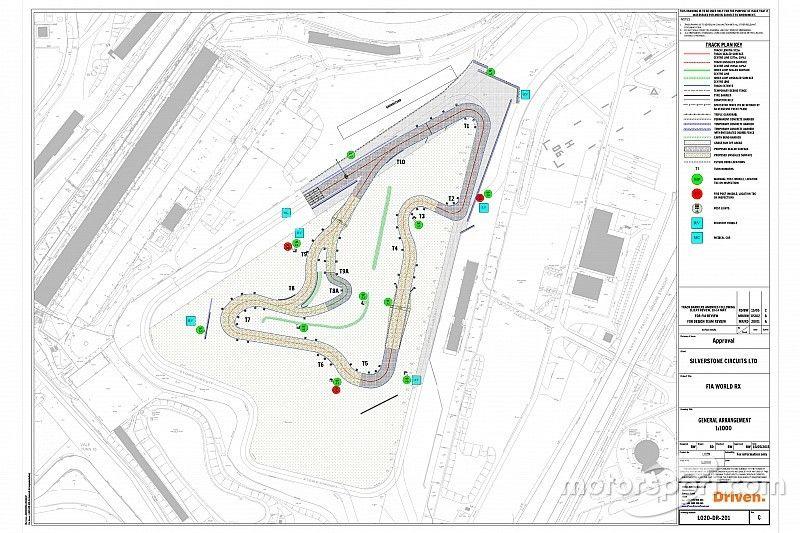 La nouvelle piste RX de Silverstone dévoilée