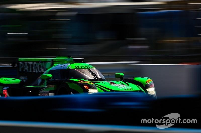 Petit Le Mans: Nissans under pressure with two hours to go