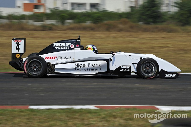 Chennai MRF Challenge: Newey takes crucial pole ahead of Schumacher