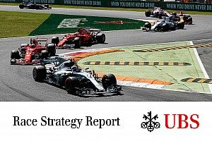 James Allen: Laporan Strategi Balapan UBS - GP Italia