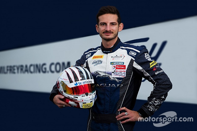 Alex Fontana fährt beim Finale für Emil Frey Racing