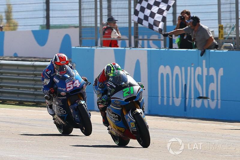 Moto2 Aragon: Duel sengit, Morbidelli taklukkan Pasini