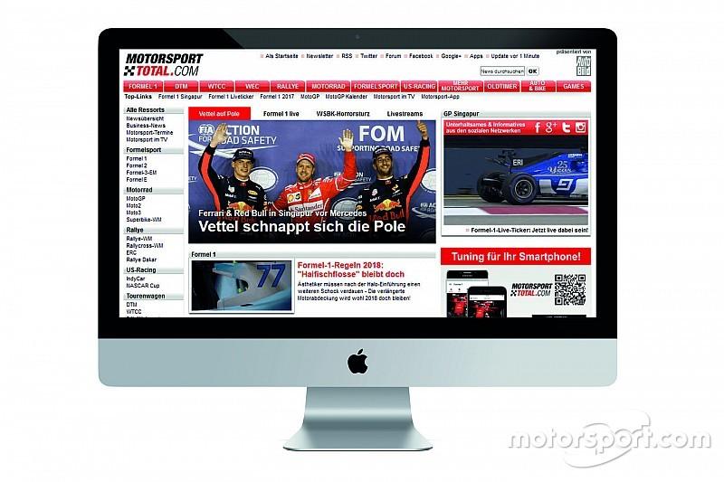 Motorsport Network akuisisi grup media olahraga Jerman