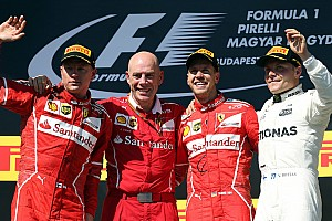 Formula 1 Race report Hungarian GP: Vettel scores anxious win in hobbled Ferrari
