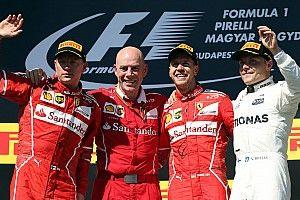 ترتيب بطولة العالم للفورمولا واحد بعد جائزة المجر الكبرى